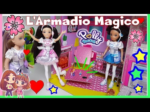 POLLY POCKET e MIRACLE TUNES per aiutare LOLLINA 'LOLLY POCKET'! storia Lol Surprise By Lara e Babou