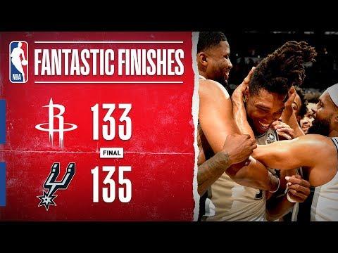 DRAMATIC Double-OT THRILLER In San Antonio Between The Rockets & Spurs | Dec. 3, 2019