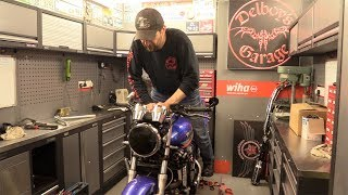 Delboy's Garage, Quick and Easy Motorcycle Fork Alignment .