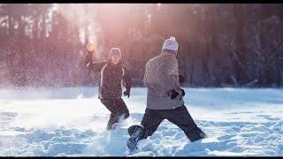 Лапта в Челябинске. Веселый зимний спорт.