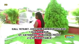HOUSE FOR SALE IN JAMAICA  PRICE  J$12.5M ON TOTALMIX TV PROGRAM SEP 5 2017