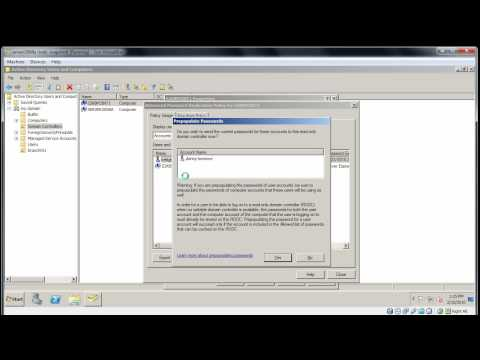 Windows Server 2008: manage a RODC (read only domain controller)