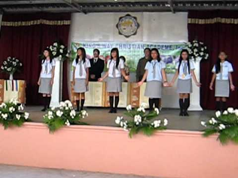 The new CALABARZON by KWCA students...