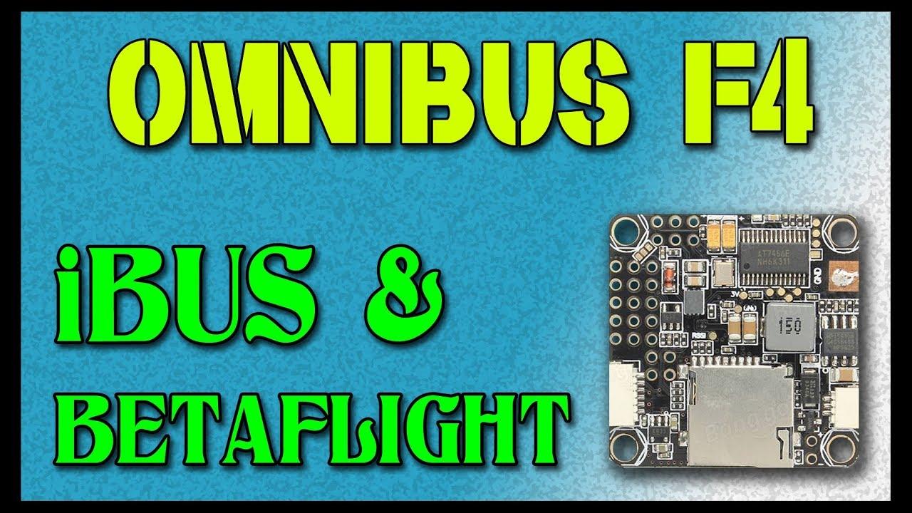 Omnibus F4 and IBUS | IntoFPV Forum