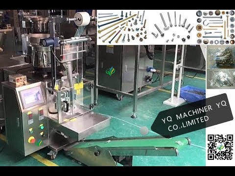 Automatic screw Bolt Nail Hardware counting packing machine with one bowl nail packer