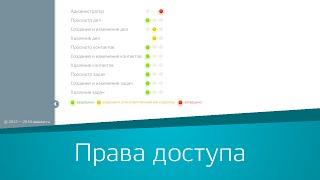 Управление правами доступа сотрудников в системе Регистрация в системе «Дела Идут»(, 2015-12-25T13:57:04.000Z)