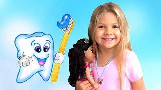 Diana とパパ、歯医者さんへ行く