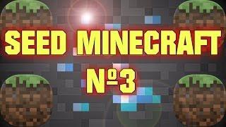 MINECRAFT SEED: Semilla Aldea, Templos, Portal al End, Diamantes, Libro Encantado 1.7.9 / 1.7.10