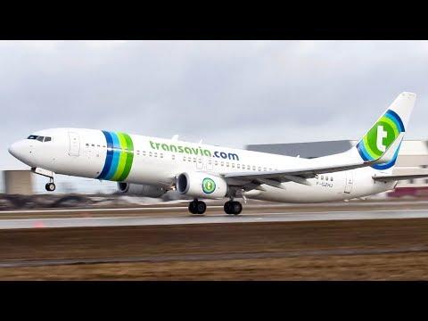 Transavia France Boeing 737-800 (B738) departing Montreal (YUL/CYUL)