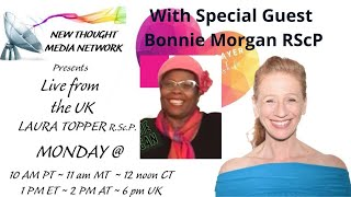 The Cosmic Prayer with Laura Topper w/ Special Guest Bonnie Morgan RScP