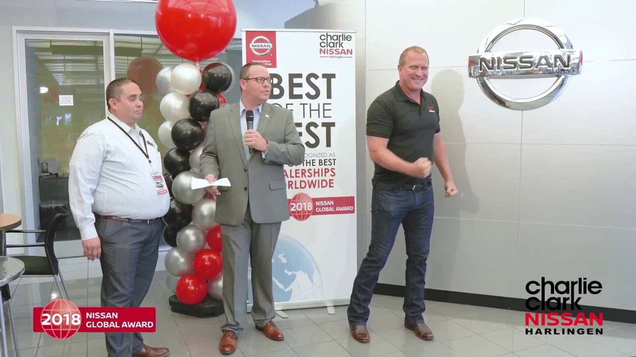 Charlie Clark Nissan Harlingen Nissan Global Award Youtube