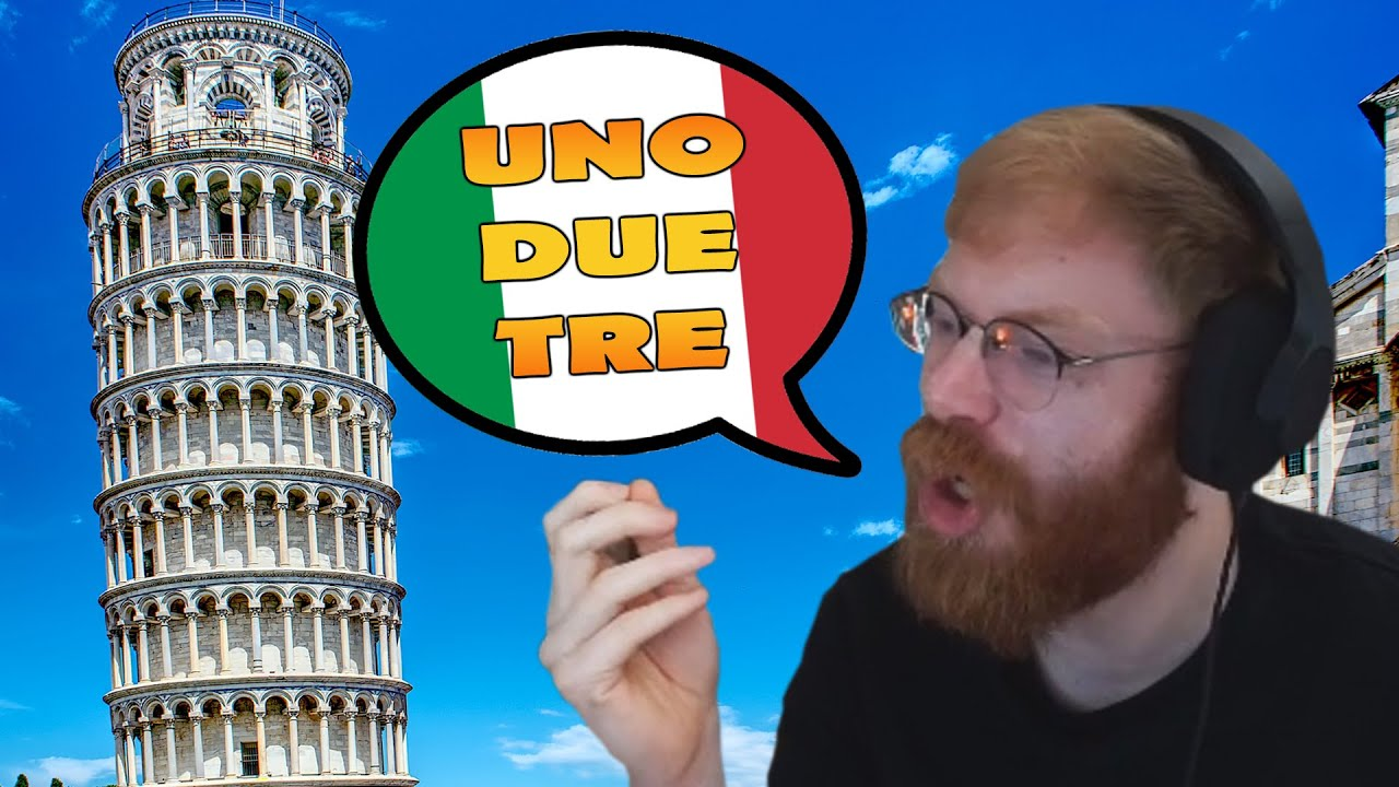 TommyKay Tries to Learn Italian Numbers