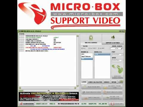 HTC SFR S710 READ CODES by MICROBOX - www.micro-box.com