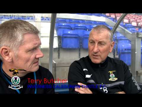 Inverness Caledonian Thistle manager Terry Butcher, post match interview v St Mirren, 03/08/2013