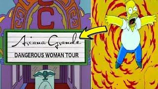 ¿Los Simpsons Predijeron El Incidente en Concierto de Ariana Grande? - LA VERDAD