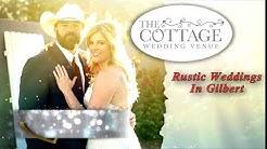 Rustic Weddings Gilbert AZ - The Cottage Wedding Venue (480) 747-0756