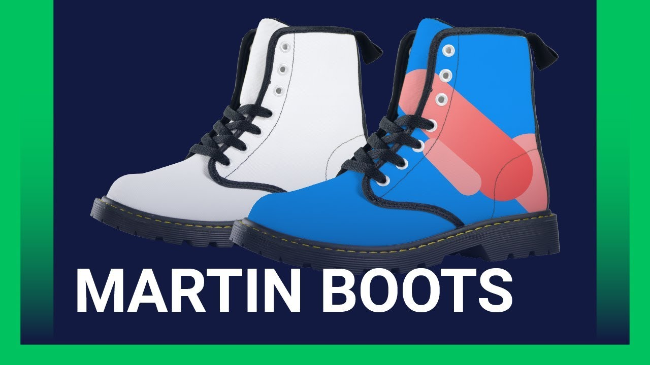 Customize Your Own Martin Boots [Printify Product Review]