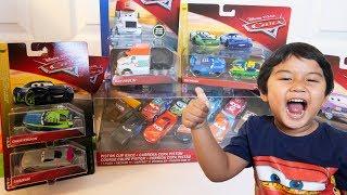 Unboxing Disney Cars Next Gen Diecast CHRIS ROAMIN SHRIRAM Mater Lightning Bolt Cars Toy Review