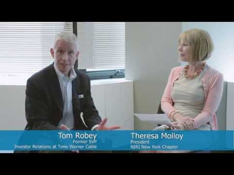 M&A IR w/ Tom Robey, frmr SVP IR Time Warner Cable
