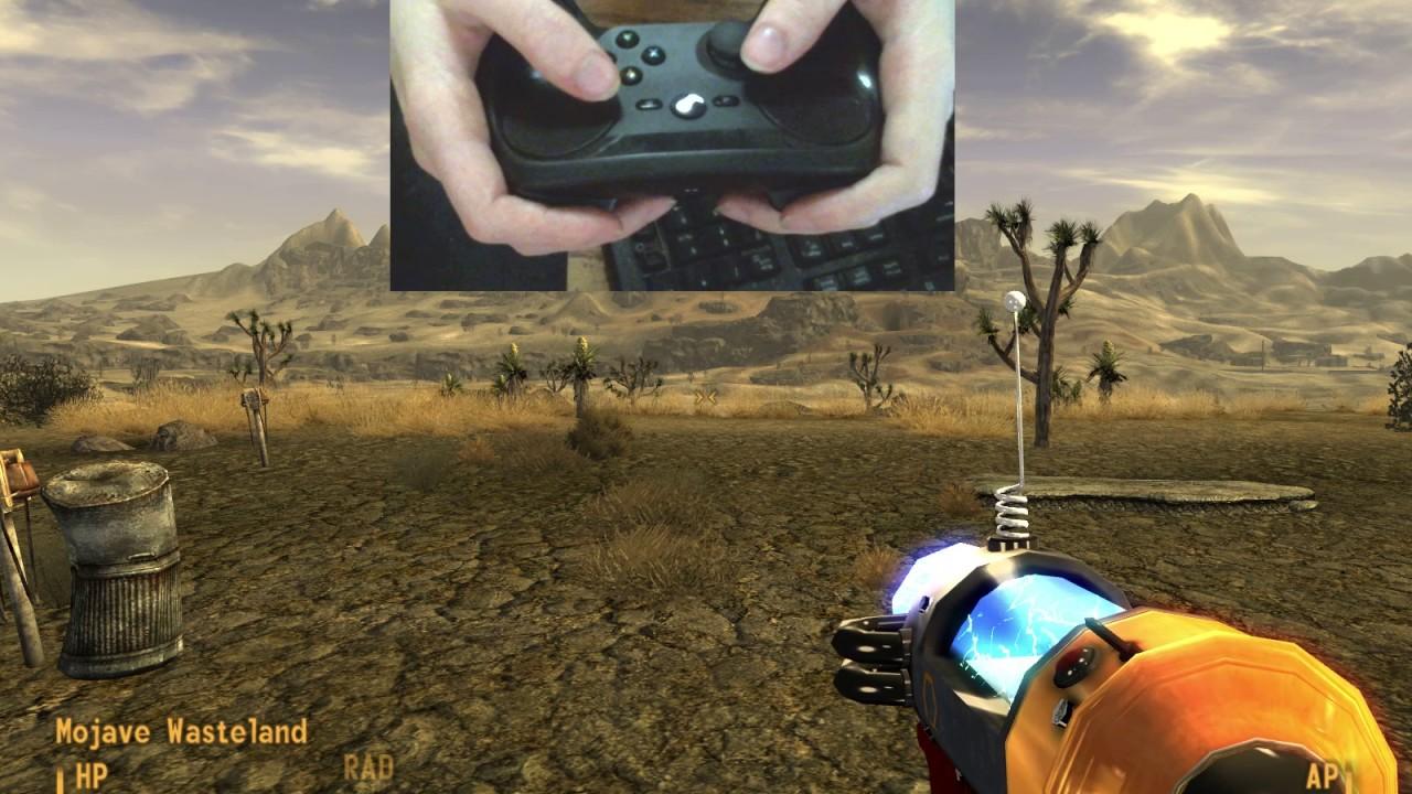 Steam Controller - Fallout new Vegas v2