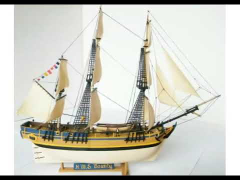 H M S Bounty model ship by Revell 1:89