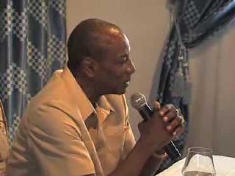Rencontre Pr Alpha CONDE et l'Association de la Presse Guinéenne
