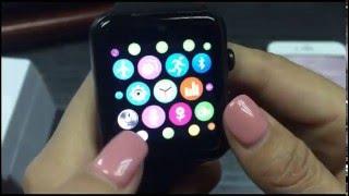 lemfo lf07 smart watch operation demo
