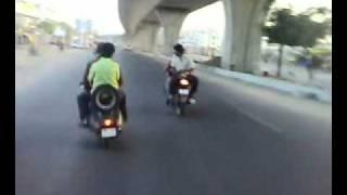 hyderabad khatri's maza lo on bike 2