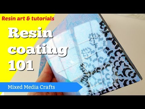 Clear coating with resin for beginners - resin 101