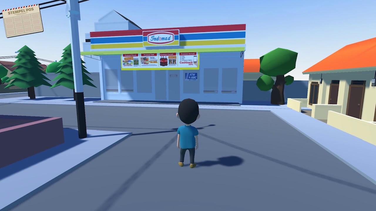 Video Gameplay Aset 3d Projek Skripsi Game Penguji Intelegensi Youtube