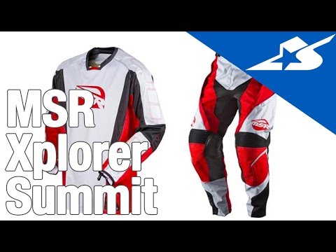 MSR Xplorer Summit Jersey and Pants Review   Motorcycle Superstore