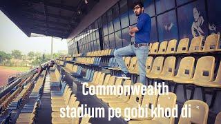Commonwealth stadium me race..😥😥