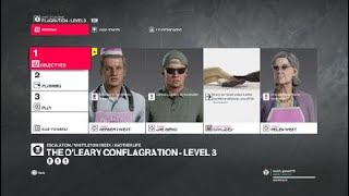 HITMAN™ 2 Escalation O''Leary conflagration level 2 silent assassin