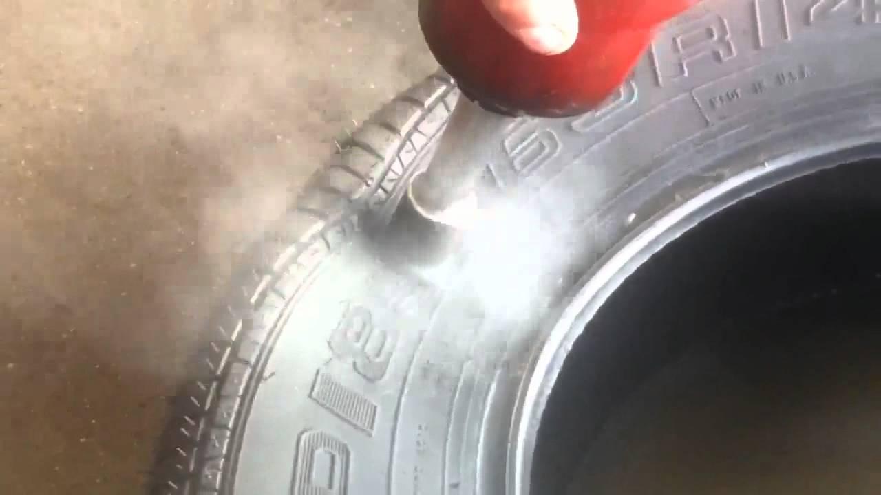 properly fix tire   sidewall youtube