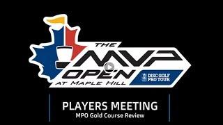 MVP Open Players Meeting