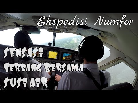 Ngeri2 Sedap Terbang dengan Susi Air menuju Pulau Numfor (Ekpedisi Numfor Part1) (Papua vlog059)
