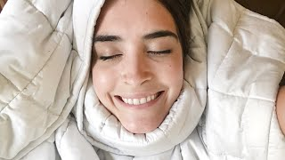 I Try A Weighted Blanket For 7 Days To Improve My Sleep