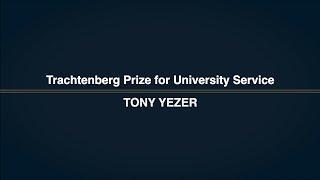 2019 GW Faculty Honors - Trachtenberg Award