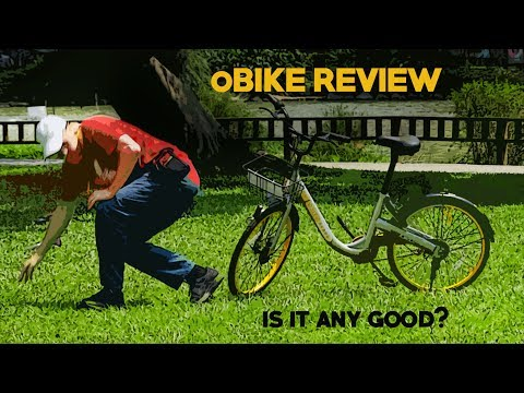 🚲oBIKE Public Bikes REVIEW --ARE THEY ANY GOOD?🚲
