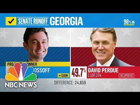 Democrat Jon Ossoff Projected Winner In Georgia Runoff   NBC News