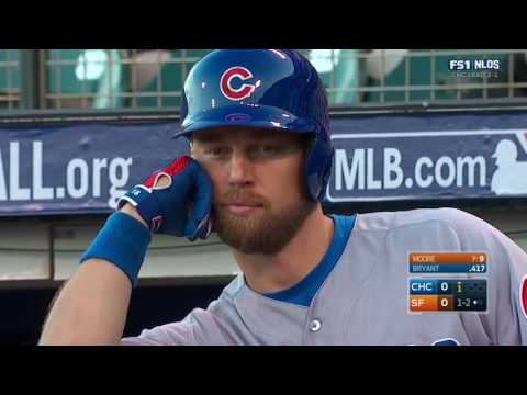 MLB 2016 NLDS Cubs at Giants Game 4