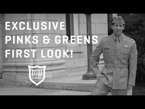 Exclusive Pinks And Greens First Look