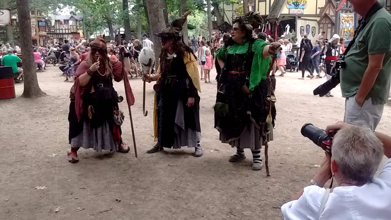 Witches at renaissance fair & Witches at renaissance fair - YouTube