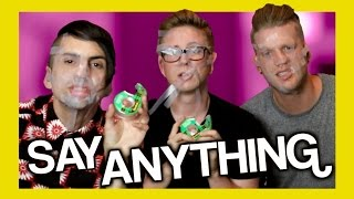 Say Anything Challenge (ft. SUP3RFRUIT) | Tyler Oakley