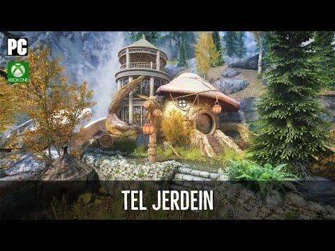 Skyrim Mods: Tel Jerdein - Telvanni Sorcerer Tower | Player Home (PC & XBOX ONE)