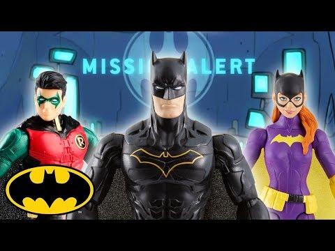 Part 1 | Batman Missions: Stop-Motion Adventures | DC Kids