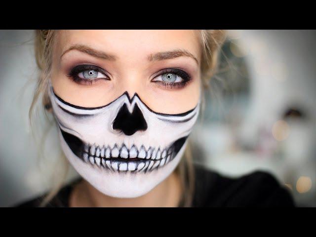 last minute easy halloween makeup tutorials popsugar beauty