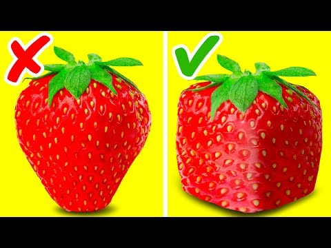 47 INCREDIBLE FRUIT TRICKS