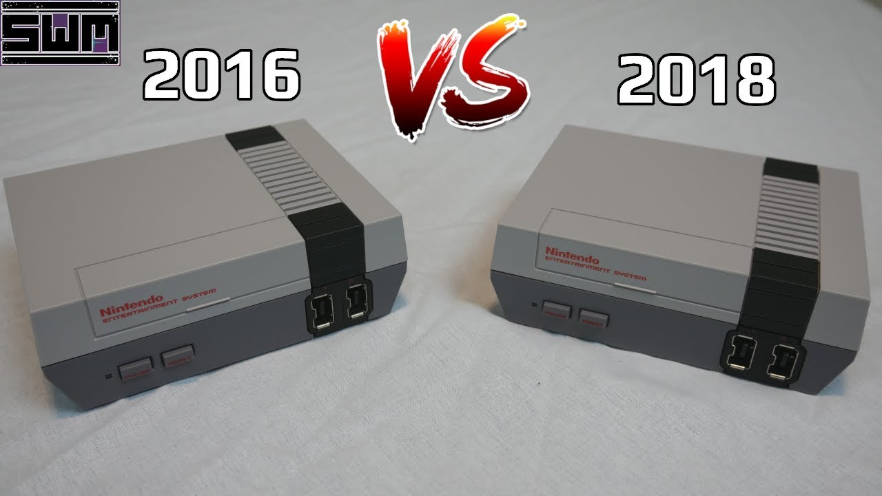 NES Classic 2016 VS 2018! Is There A Difference? | Tech Wave!