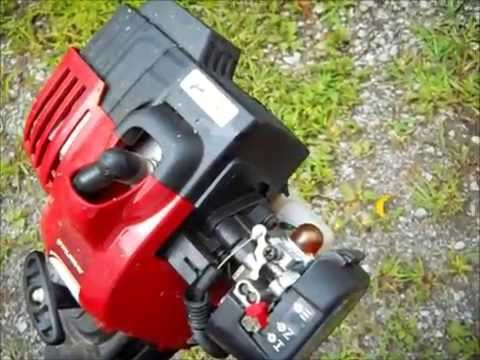 String trimmer weed eater wacker will not start, diagnosis and EASY repair  fix free!